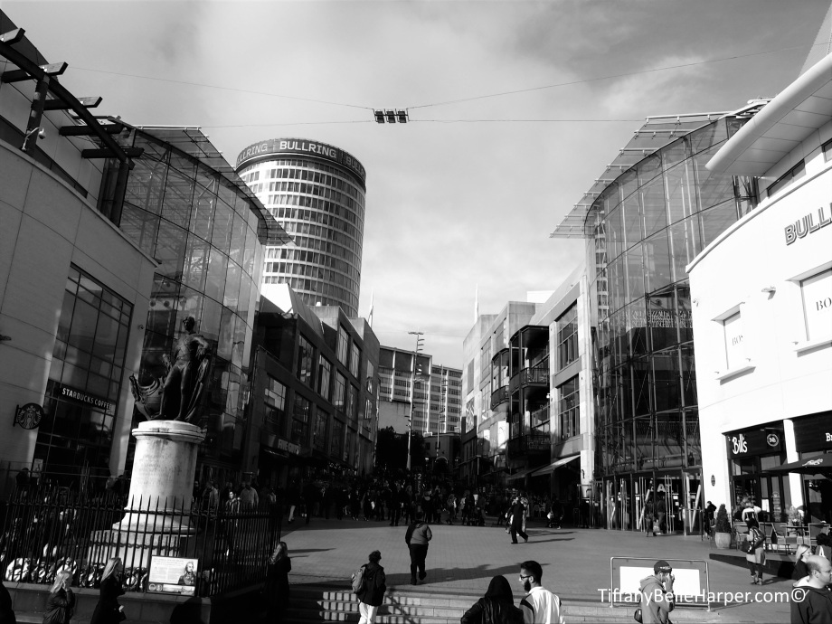Bullring and Snow Hill - Birmingham - UK by Tiffany Belle Harper